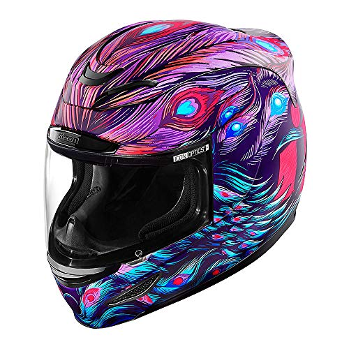 Icon Helm Airmada Opa City lila pink, S