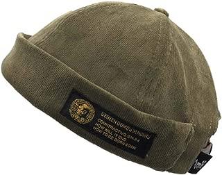 Docker Leon Harbour Hat Watch Cap Breathable Mesh Design Retro Brimless Beanie Hat Unisex