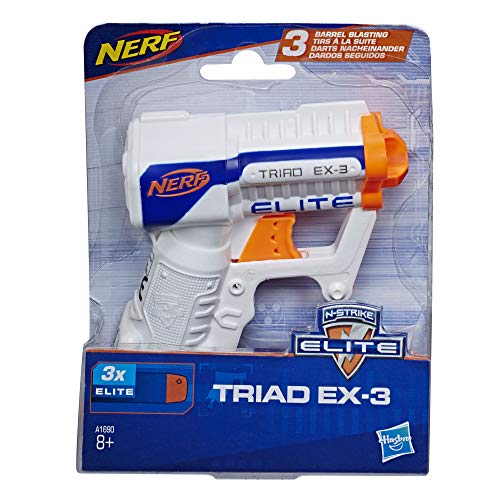 NERF N-Strike Elite Triad EX-3玩具,多色