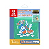 (12月中旬発売予定)【任天堂ライセンス商品】Nintendo Switch専用カードケース カードポケット24 ミッキー&フレンズ(ミント)