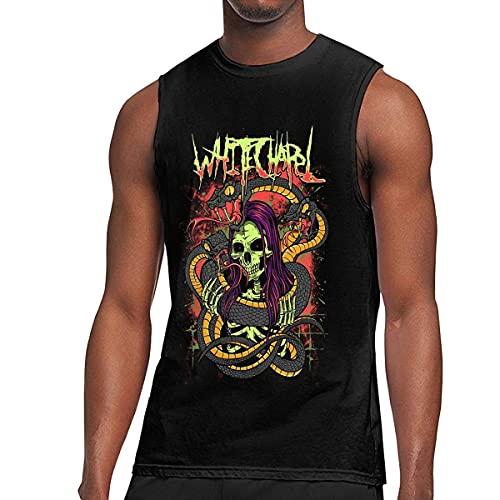 Whitechapel Shirt Hombres Tank Tops Moda Sin Mangas Gym Chaleco Camiseta