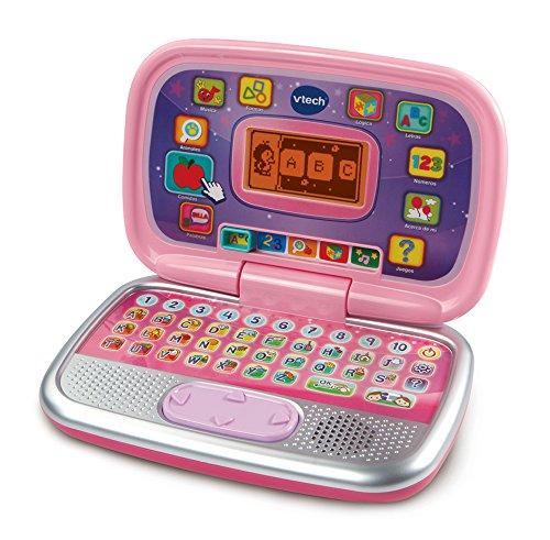 Vtech- Diverpink PC Ordenador Infantil Educativo para Niños, Color rosa, única (80-196357)