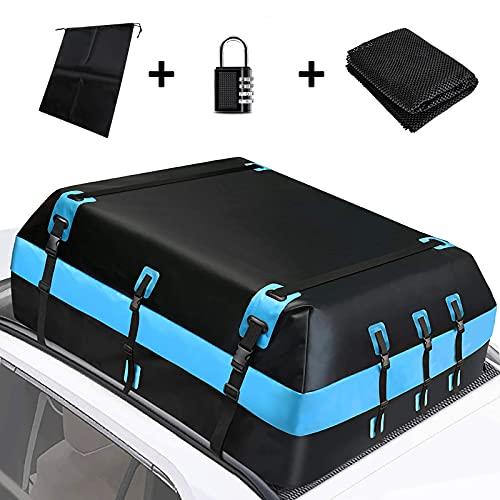 ETE ETMATE Car Roof Bag 20 Cubic Feet Rooftop Cargo Carrier Bags Waterproof...