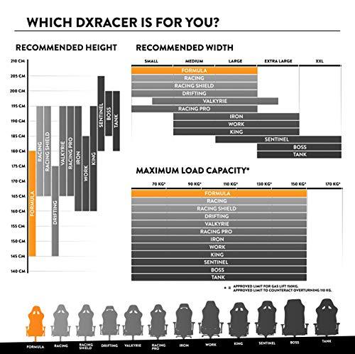 DXRacer Formula Series F11-NW Gaming Bild 4*