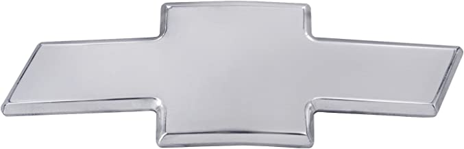 All Sales 96001P Ami Chevy Bowtie Grille Emblem Without Border, Silver