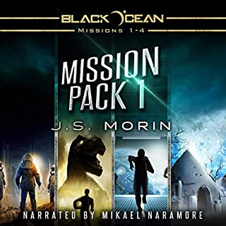 Mission Pack 1 audiobook cover art