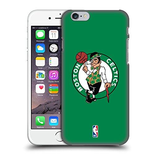 Head Case Designs Ufficiale NBA Semplice Boston Celtics Cover Dura per Parte Posteriore Compatibile con Apple iPhone 6 / iPhone 6s