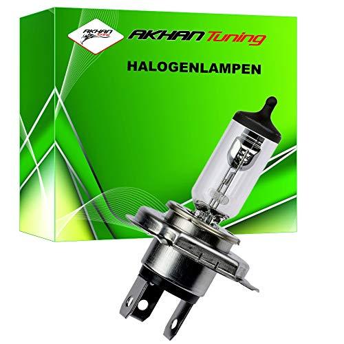 58040 - lampe halogène ampoule ampoule de rechange H4 12V 60 / 55W P43T