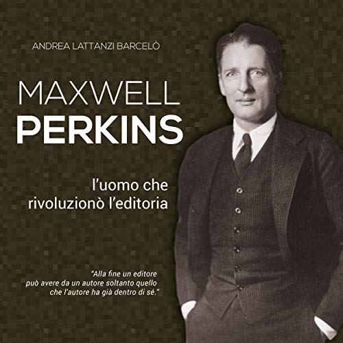 Maxwell Perkins audiobook cover art