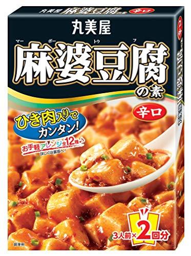 丸美屋 麻婆豆腐の素 辛口 162g