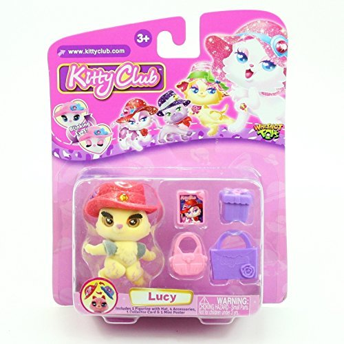 LUCY * Kitty Club * 2016 Whatnot Toys Single Figurine & Accessories Pack by Kitty Club
