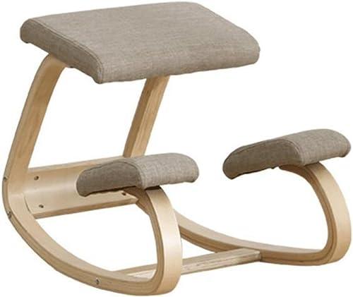 YUHUS Home Fauteuil d'entraîneHommest à la Posture pour Les Enfants fauteuils à Bascule Nordiques en Bois Massif (Couleur   C)