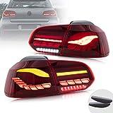 VLAND OLED Fanale posteriore compatibile per Golf 6 MK6 GTI GTD TDI R 2008-2013 Luci poste...