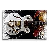CALVENDO Premium Lienzo 75 cm x 50 cm Horizontal, Rockabilly, Imagen sobre Lienzo, Lienzo Lienzo: Estilo Semi acústico, Arte calvento ES 335
