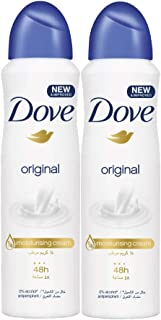 Dove Antiperspirant Deodorant Original, 150ml (Twin Pack)