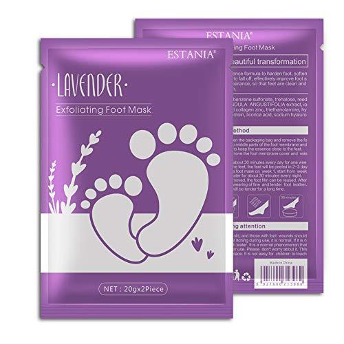 Onkessy Foot Peel Mask Remove Dead Skin Heel Socks Peeling Foot Care Repair Heels Rough Make Your Feet Baby Soft for Men Women