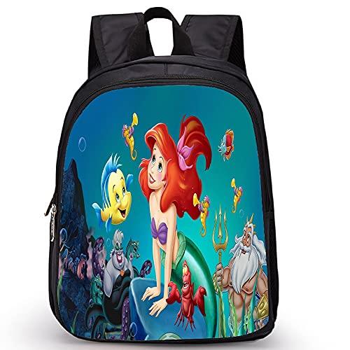 yanxintiyu 3D Meerjungfrau-Musternyouth-Jungen-Mädchen-Rucksack Niedlicher Footravel Bagsheulder Bag/Bleistiftkoffer (Color : 3, Size : 14x27x35cm)