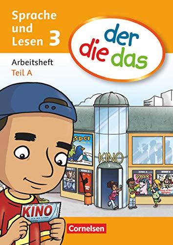 der-die-das - Deutsch-Lehrwerk für Grundschulkinder mit erhöhtem Sprachförderbedarf - Sprache und Lesen - 3. Schuljahr: Arbeitsheft Sprache Teil A und B im Paket
