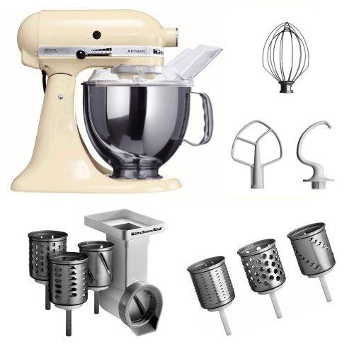 Kitchenaid KSM150PSEAC + MVSA + EMVSC Kitchenaid 5KSM150PSEAC Küchenmaschine Serie