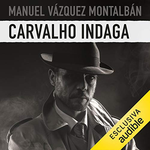 Carvalho indaga audiobook cover art