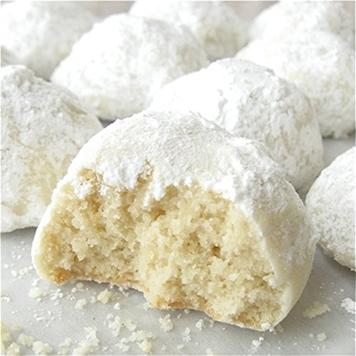 Mamas Bakery Buttery Almond Wedding Cookies (Gluten Free, 1 lbs.)
