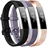 CreateGreat Bands Compatible for Fitbit Alta,Alta HR,Ace,Adjustable Replacement Sport Accessory Bands Wristbands Strap for Fitbit Alta/Alta HR/Ace Women Men
