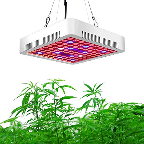 JZH 300W LED plantenlamp LED Grow Light Volspectrum plantenlicht Led Grow Lamp met schakelaar voor kamerplanten groenten en bloemen