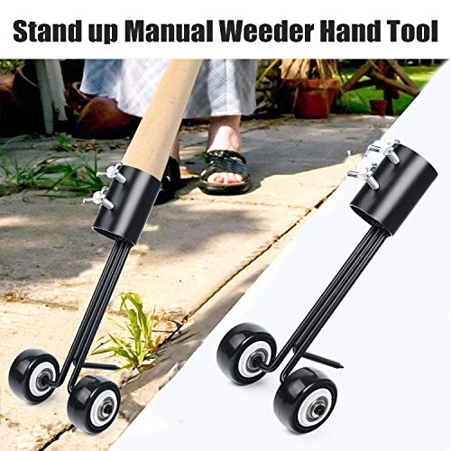 Weed Puller Tool, Manual Weeds Snatcher Household Helper Garden Tools, Portable Crack and Crevice Weeding Cleaning Hand Weeder Quick Remove Tool for Garden Patio Backyard Lawn Sidewalk Driveways Weeds
