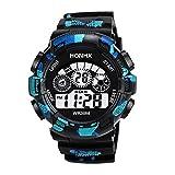 腕時計 メンズ 安い 超薄型 おしゃれ Dafanet レディース メンズ腕時計 電波ソーラー デジタル ビジネス シンプルデザイン スポーツスタイル ファッションクォーツ時計 男性腕時計 カジュアル 男女兼用 機械式 カップル時計 誕生日 プレゼント (B)
