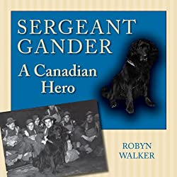 Amazon link for book Sgt Gander, A canadian hero by Robyn Walker