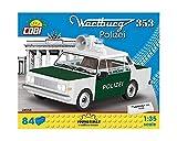 Cobi 24558 Wartburg 353 Polizei spielzeug, bunt