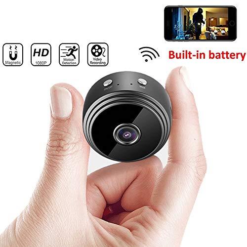 Mini WiFi Camera, 1080P HD Wireless IP P2P Camera,...