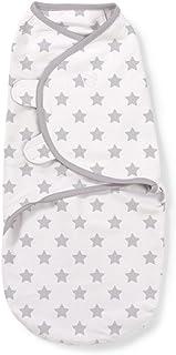 Summer Infant Original Swaddle Large, Grey Star, Pack of 1