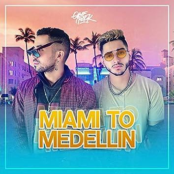 Miami to Medellín
