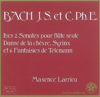 J.S. Bach, C. Ph. E. Bach, Debussy, Honegger, Telemann - Maxence Larrieu