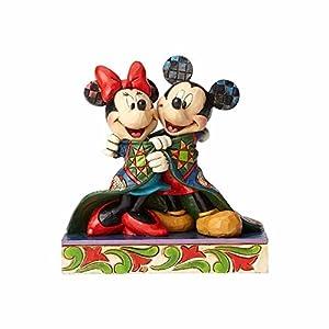 Enesco Disney Traditions Figurita Iluminamos Las Fiestas Dopey, Resina, Multicolor, 12x12x14 cm 5