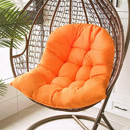 Rowe Chair Seat Pad Hanging Swing Chair Soft Cushion Washable Thicken Hanging Basket Seat Pad Indoor Outdoor Cradle Chair Cushions 80x120cm for Office Chair Lumbar Support Back Pillow