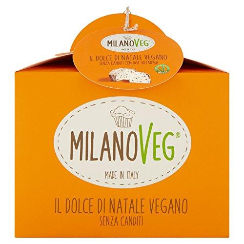 Vergani Panettone Vegano sin Fruta escarchada - 750 gr