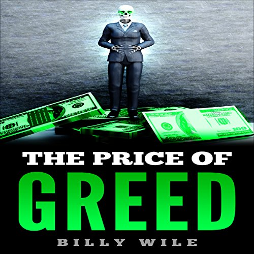 The Price of Greed audiobook cover art