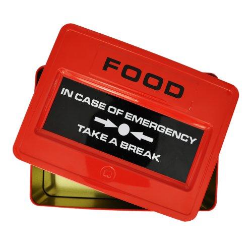 Just Mustard–Scatola Metallo di cibo per emergenze