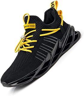 [ROVIS] スニーカー メンズ スポーツシューズ レースアップ ランニングシューズ メンズアウトドア靴 スリッポン 通勤 通学 ウォーキングシューズ カジュアルシューズ トレーニングシューズ 軽量 通気 運動靴
