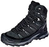SALOMON Shoes X Ultra Trek GTX BK, Botas de montaña para Hombre, Negro (Black/Black/Magnet), 44.67 EU