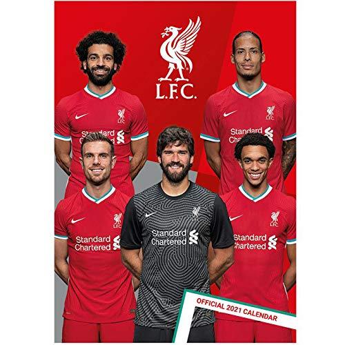 リバプール(Liverpool) オフィシャル 2021 壁掛け カレンダー 42321