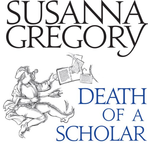 Death of a Scholar audiobook cover art