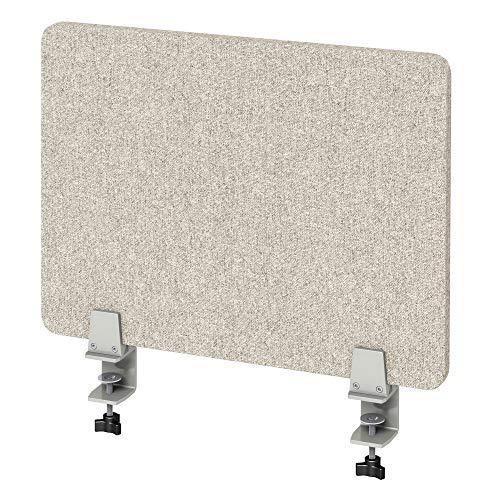 VaRoom Akustik-Trennwand für den Schreibtisch, schallabsorbierend, zum Anklemmen 23