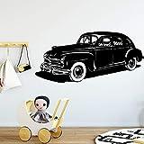 Tianpengyuanshuai Stickers muraux de Voiture Papier Peint Mobile Chambre d'enfant Chambre Chambre de bébé décoration 63X133 cm
