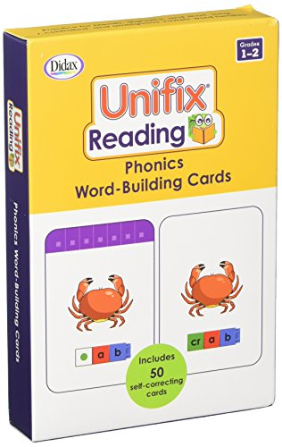 Didax Unifix Reading: Phonics Word-Building Cards