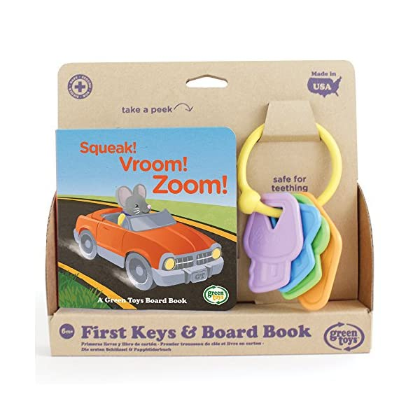 Green Toys First Keys Board Book Package Set