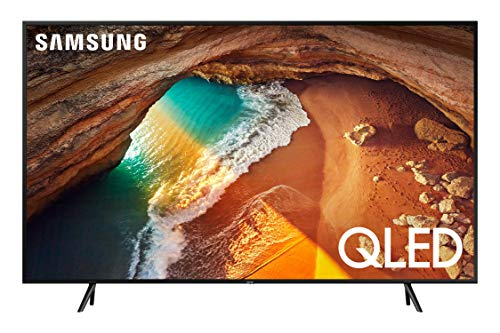 Samsung QN75Q60RAFXZA Flat 75-Inch QLED 4K Q60 Series Ultra HD Smart TV with HDR and Alexa Compatibility (2019 Model)