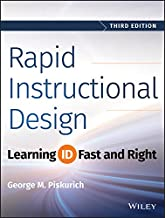 rapid instructional design learning id fast and right